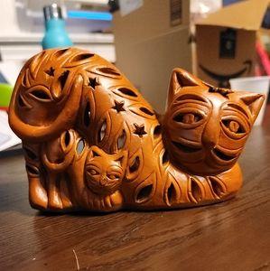 Celestial Cats Tealight Holder